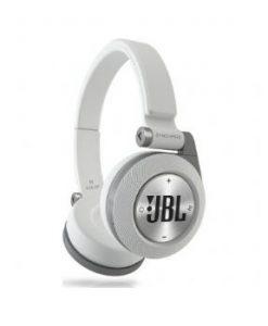 אוזניות קשת אלחוטיות עם מיק JBL E40 BT - לבן