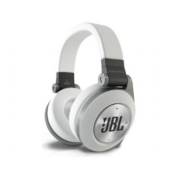 אוזניות קשת אלחוטיות JBL E50BT - לבן