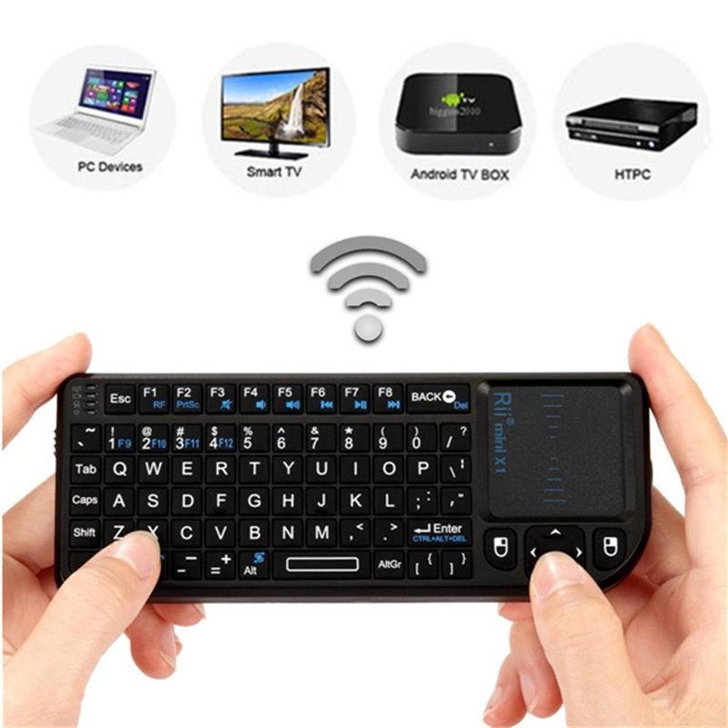 מקלדת ומשטח מגע Riitek mini X1 Wireless