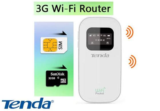 נתב עם מודם סלולרי TENDA 3G185