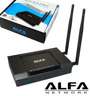 נתב אלחוטי ומגדיל טווח ALFA AIP-W525H