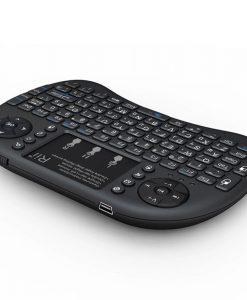מקלדת ומשטח מגע Riitek mini i8+ Wireless