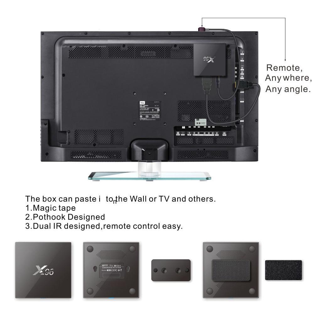 סטרימר X96 4K ULTRA 1GB/8GB